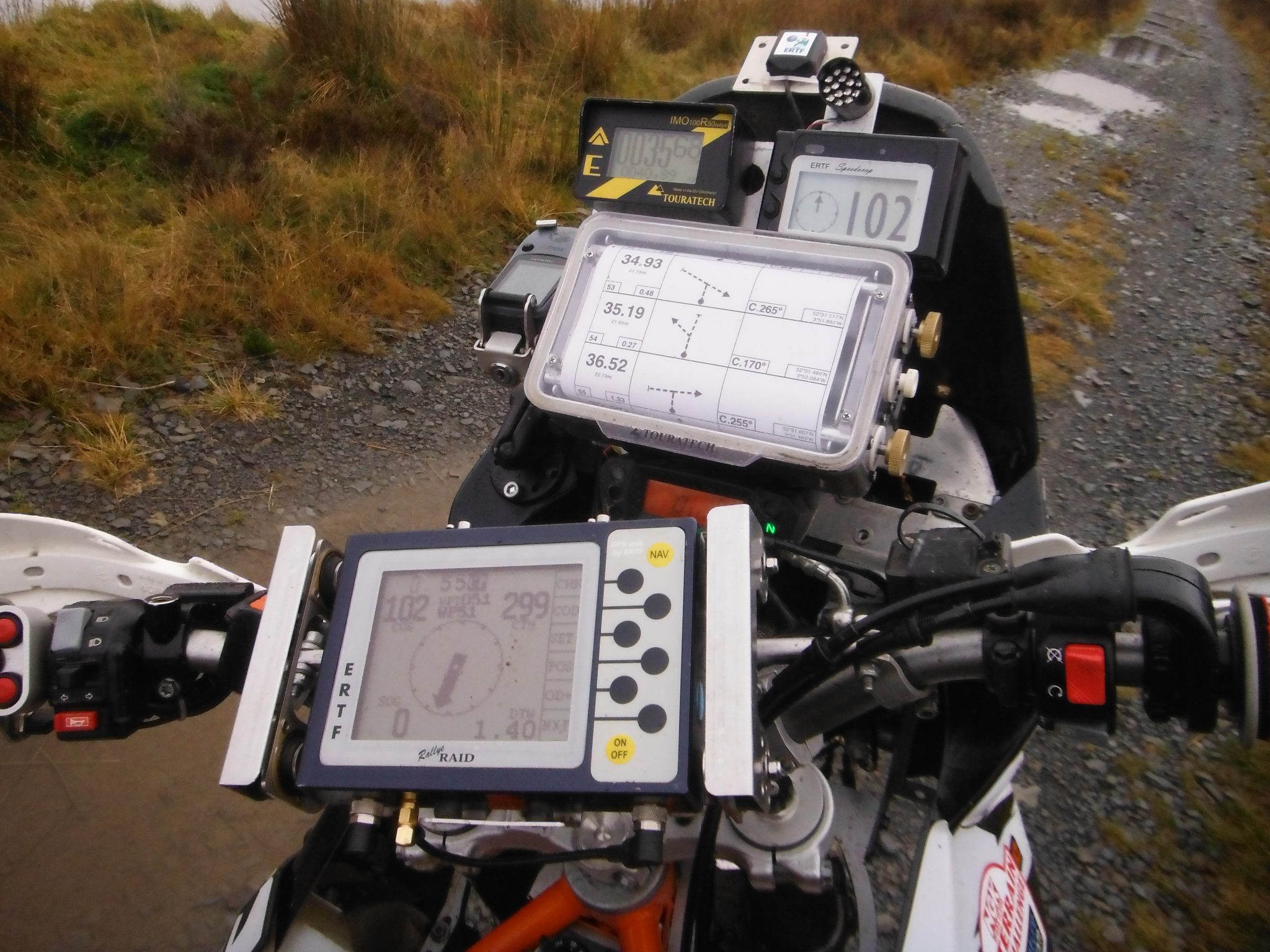 New for Pikes Peak 2014 – roadbook option