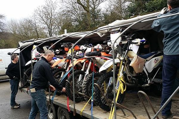 Bike Transport info – Deadline 21st March