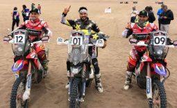 ATACAMA RALLY: Quintanilla takes the win for Husqvarna, Honda 2nd and 3rd !