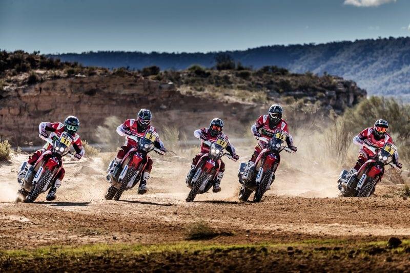 Full strength Honda team for Desafío Ruta 40