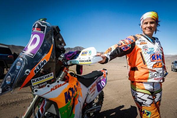 Laia Sanz starts the Atacama Rally with good feelings