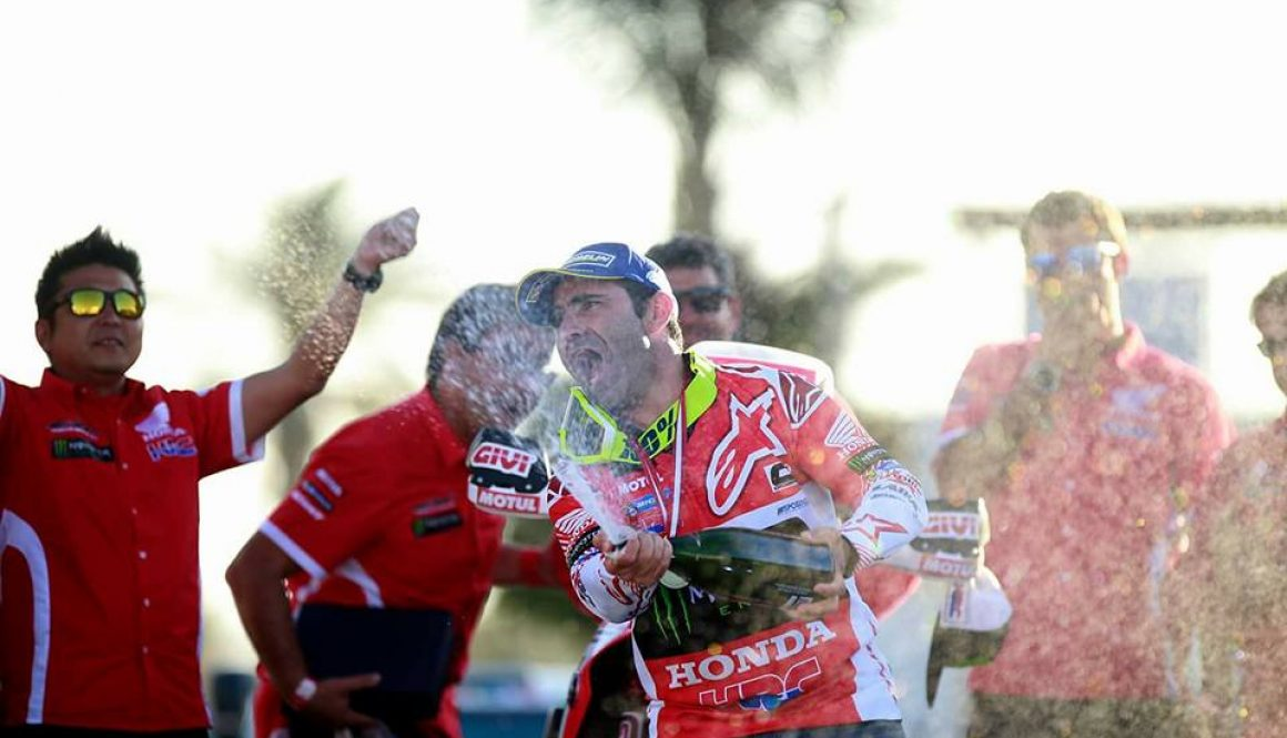 INKA BAJA: Paulo Gonçalves takes the win for Honda