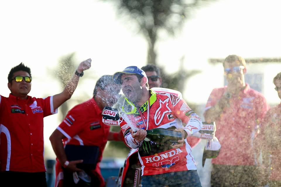 INKA BAJA: Paulo Gonçalves takes the win for Honda
