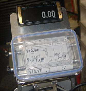 Have a go with our new simple roadbook holder