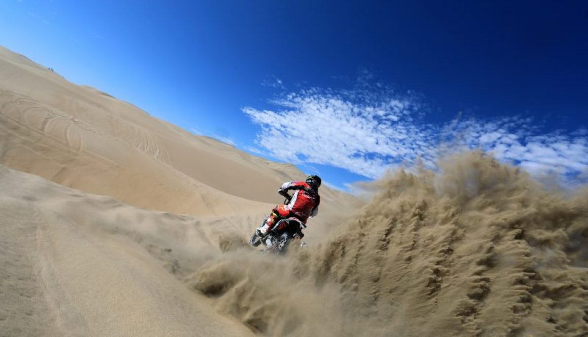 Gonçalves and Monster Energy Honda Team ready to roll in the Morocco Rally
