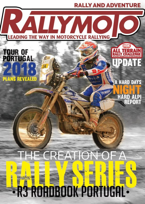 Brand new RallyMoto members magazine for 2018