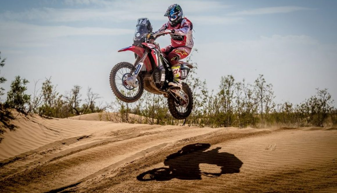 Oilibya Rally: Ricky Brabec (Honda) takes Stage 3 win