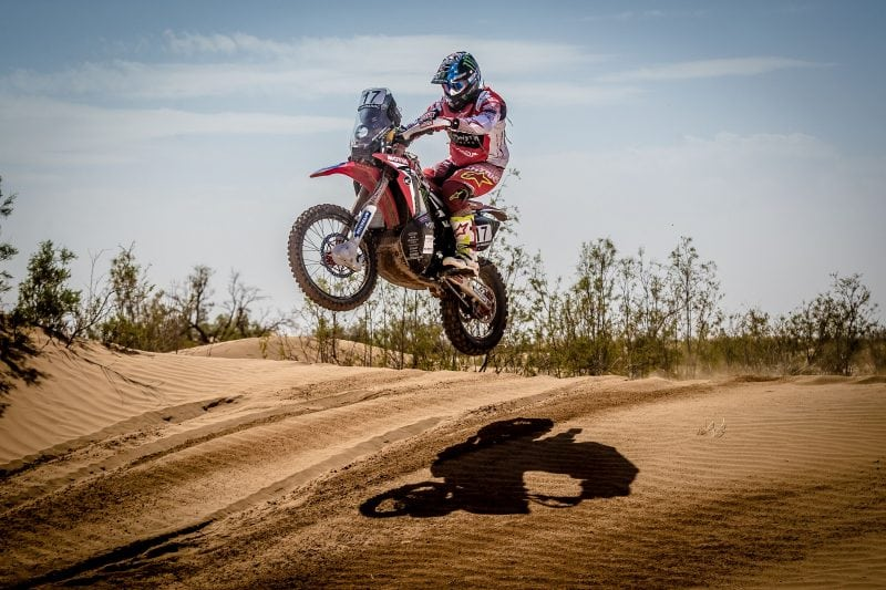Oilibya Rally: Ricky Brabec (Honda) takes Stage 3 win