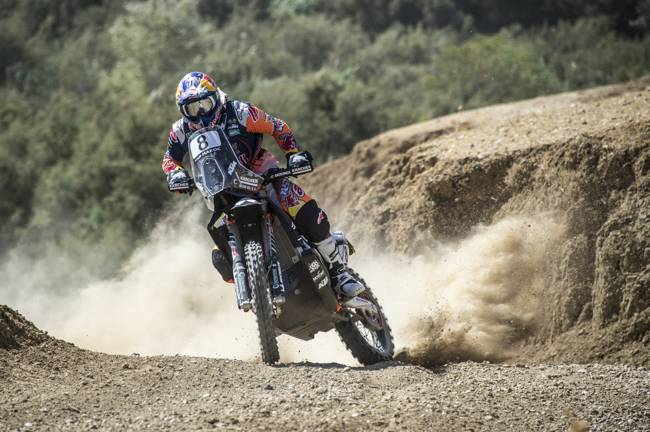 Oilibya Rally: Sunderland ties first with Walkner – Meo was faster !!!