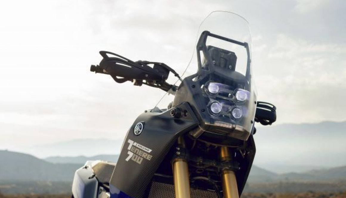 Rally and Adventure collide in the new Yamaha Tenere 700