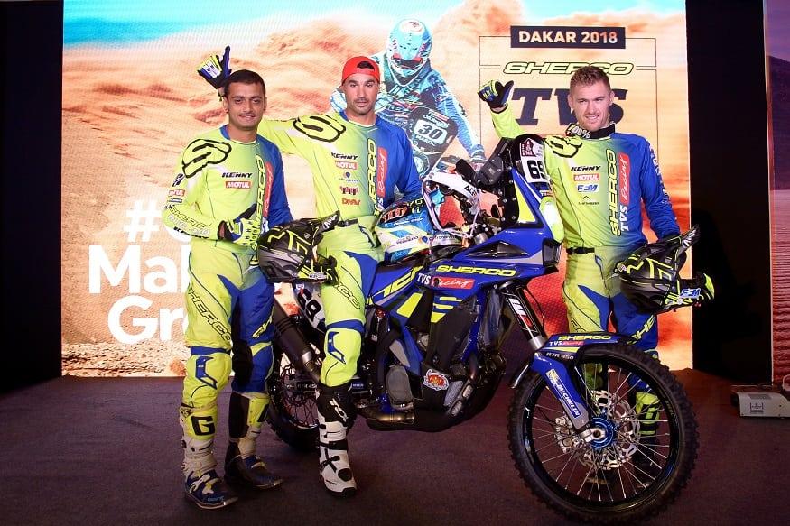 Sherco announce Dakar 2018 Squad