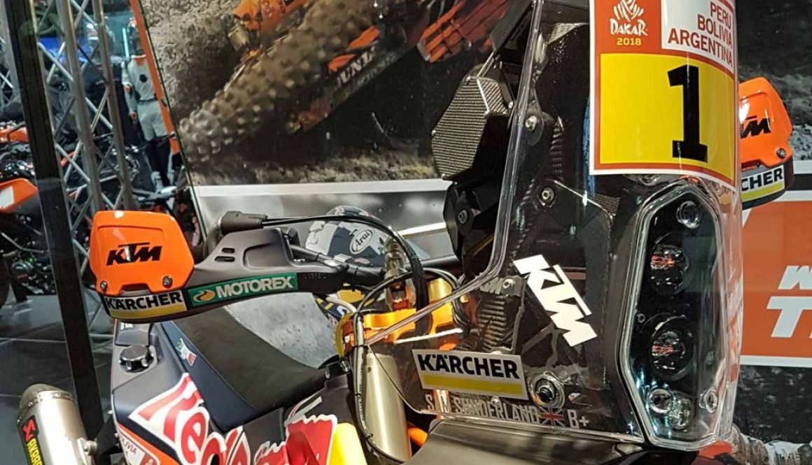 No:1 plate for Sunderland with Dakar going tough for 2018