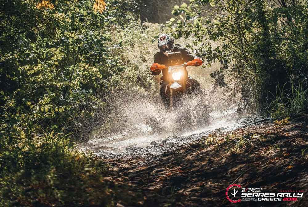 Serres 2018: Chris Barwick is leading Class 1