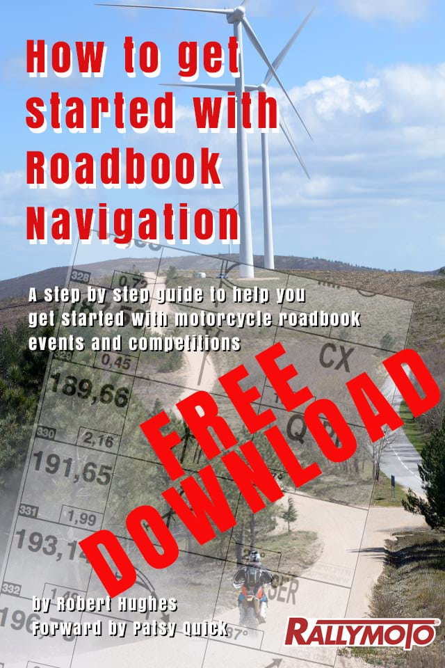 Download our FREE manual to get started with Roadbook Navigation (click on image)