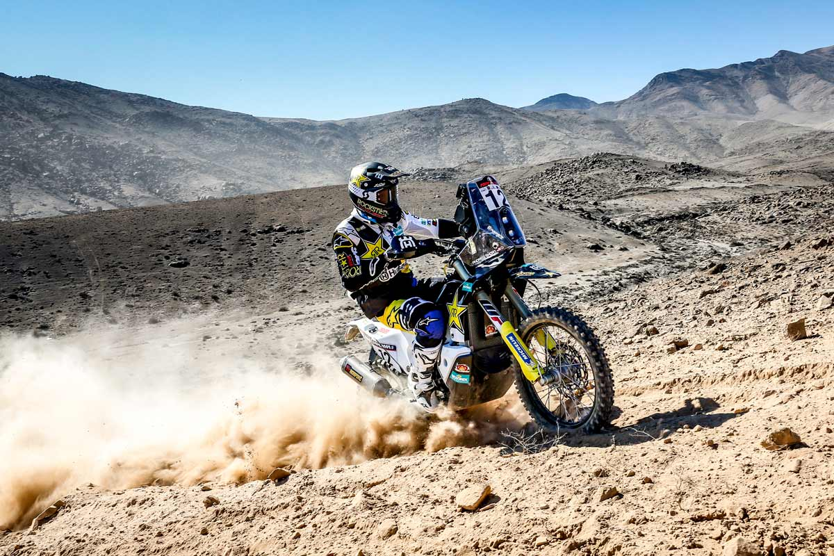 Atacama 2018: Andrew Short secures his best stage result