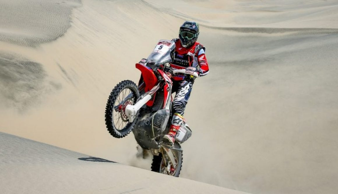 Desafio Inca Rally: Honda are turning up the heat