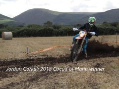 Jordan Corkill takes victory in 2018 Circuit of Mann!