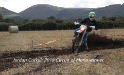 Jordan Corkill takes victory in 2018 Circuit of Mann!