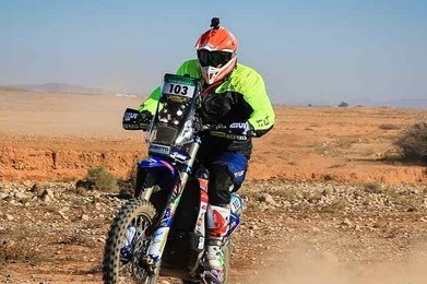 AFRICA ECO RACE: Botturi takes the first stage on the bikes.