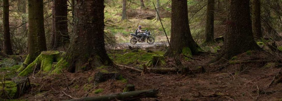 The best wildnerness riding in the UK