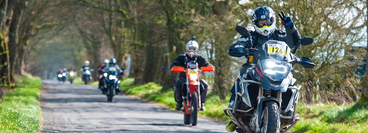 Gearing up – What we Wear on an Adventure Rally
