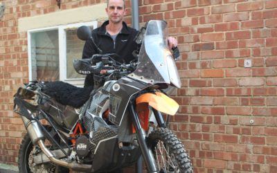 Ice Breaker Mission Accomplished – The Solo Rider on a Single and His Journey to 100k miles.
