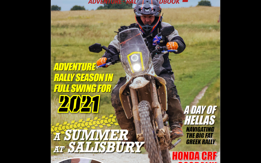 The Launch of our very own Adventure Rally Mag!
